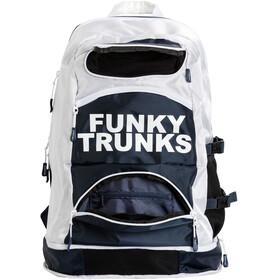 Funky Trunks Elite Squad Zwem- en Tri Transition rugzak wit/zwart